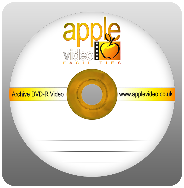 Apple Video Facilities Gold Archive DVDs
